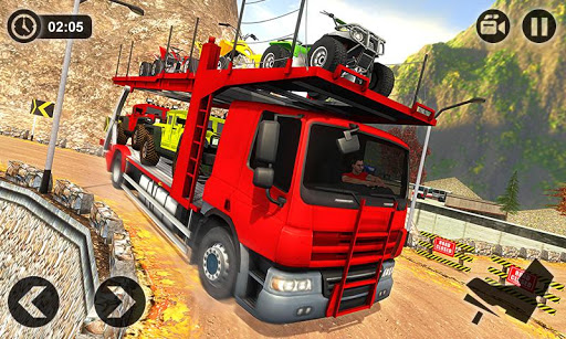 Vehicle Transporter Trailer Truck Game 1.4 screenshots 2