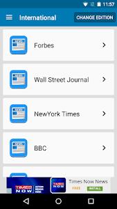 Czech Newspapers screenshot 3