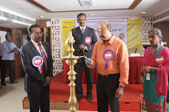 Photo: Invocation by Mr. A. Devi Dutt, Senior Manager, Indian Overseas Bank, Rathinapuri Branch, Coimbatore