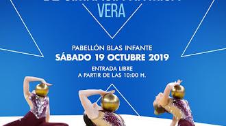 Cartel anunciador del Torneo de Gimnasia Rítmica de Vera.