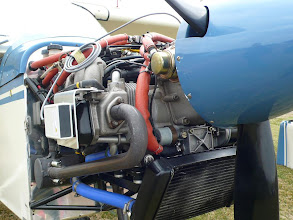 Photo: PB-3 attached to a Rotax 4-stroke engine.