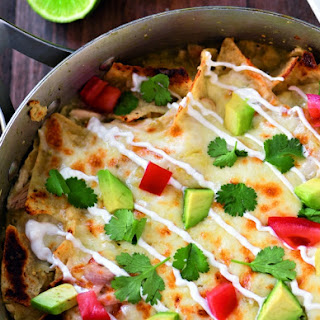 Easy Chicken Chilaquiles