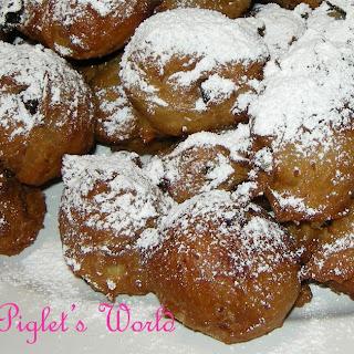 Potato & Raisin Donuts - Fluffy Bites