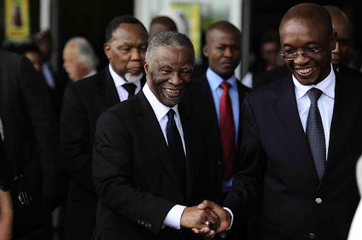 Former president Thabo Mbeki is allegedly stalling President Cyril Ramaphosa's plans for an elders' council.