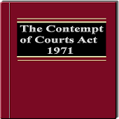 The Contempt of Courts Act1971