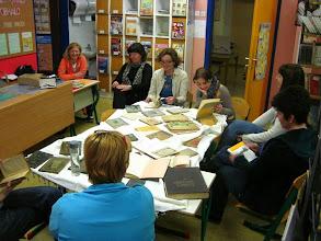 Photo: Branje poezije v šolski knjižnici OŠ Jožeta Moškriča v Ljubljani. (Foto Janja Lebar)