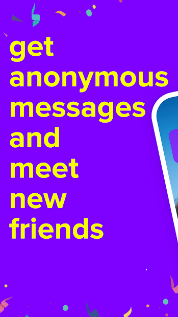 F3 - Anonymous questions, Chat Android App Screenshot