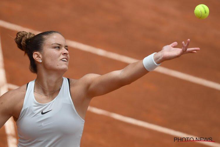 Maria Sakkari heeft meer dan drie uur nodig in haar achtste finale op de US Open, maar ze haalt het uiteindelijk wel van nummer 7 van de wereld