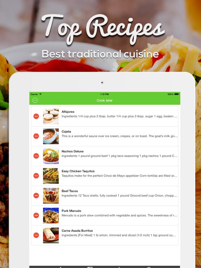 Mexikanische Küche Rezepte – Android-Apps auf Google Play