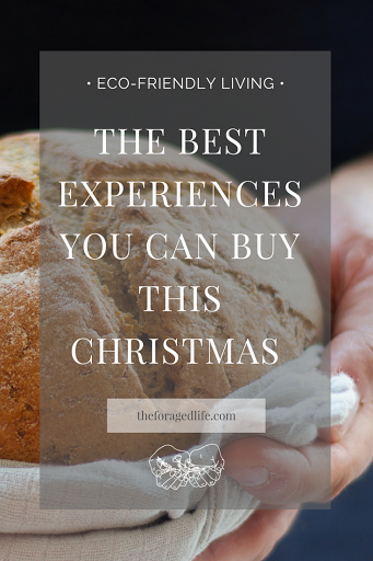 A guide to the best experiences you can buy your loved ones this Christmas & why it's better for the planet | Eco-Friendly living by The Foraged Life