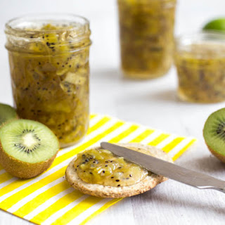 Kiwi Jam with a Hint of Lime (and a Giveaway!) Recipe