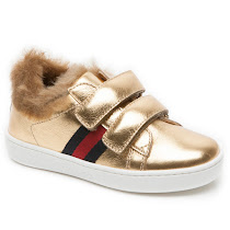 Gucci Faux Fur Toddler Trainer TRAINER