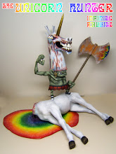 "Photo: ""The Unicorn Hunter"" Custom Horselington"