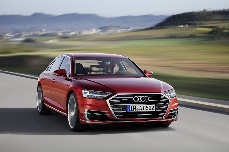 The new Audi A8 will have Level 3 autonomous technology for places where it is allowed and will work