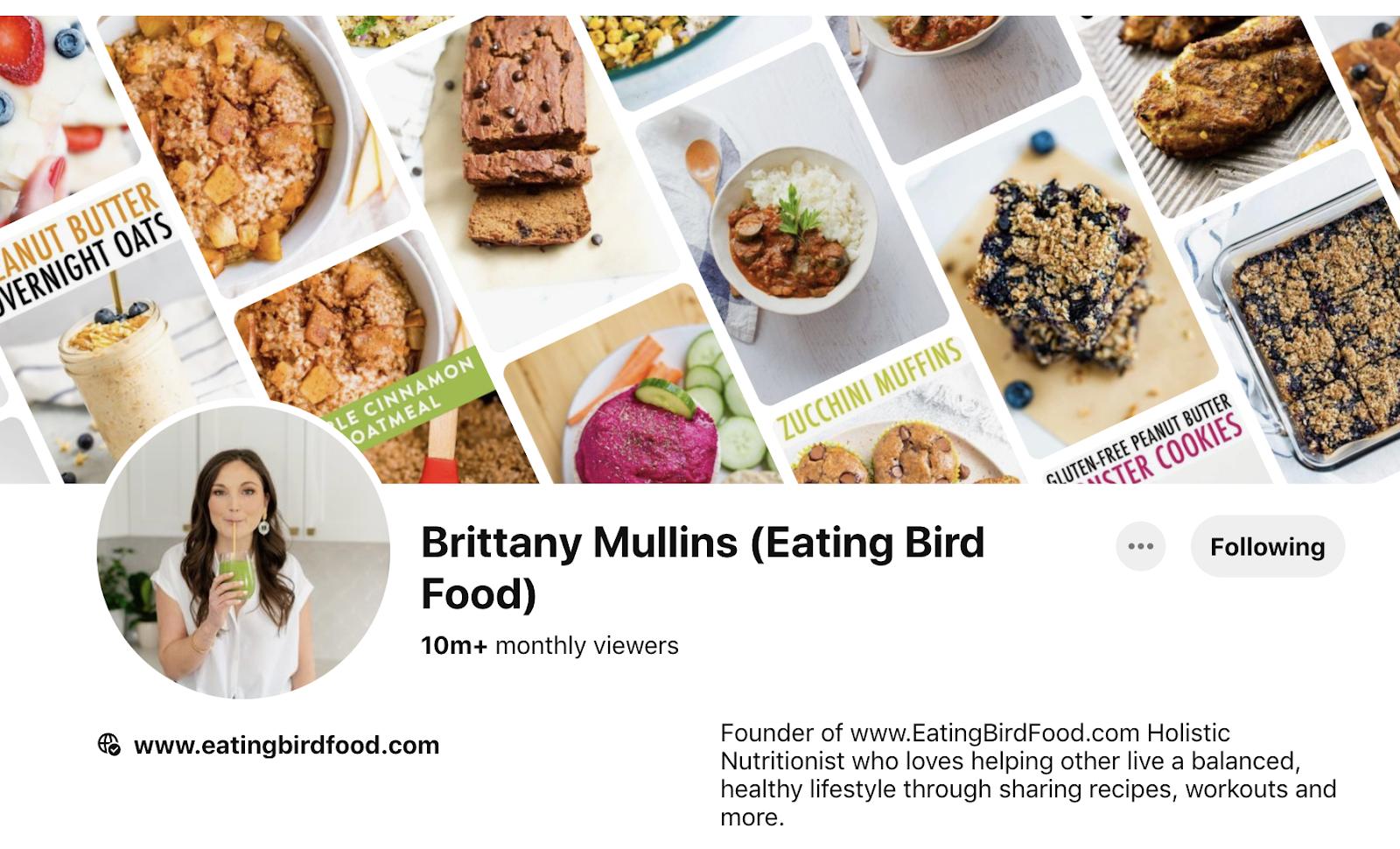 Brittany Mullins Eating Bird food