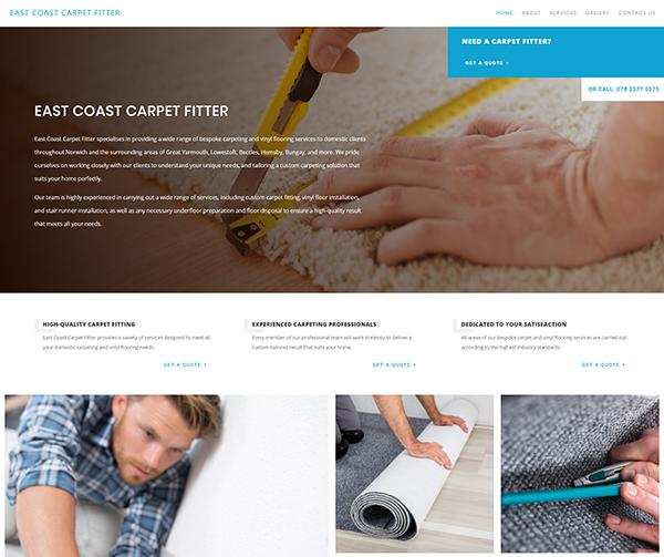 east coast carpet fitter