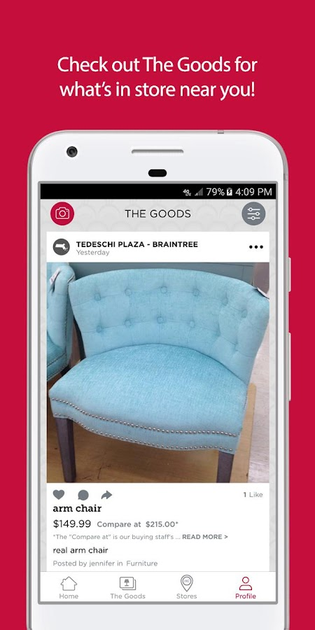 HomeGoods- screenshot