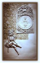 Photo: Antonio Berni Ramona adolescente 1976. Xilo-collage-relieve. Matriz xilográfica: 95 x 56,5 cm. Estampa: 105 x 65 cm. Colección particular, Buenos Aires. Expo: Antonio Berni. Juanito y Ramona (MALBA 2014-2015)