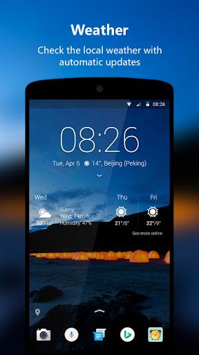 Next Lock Screen 3.11.6 screenshots 4