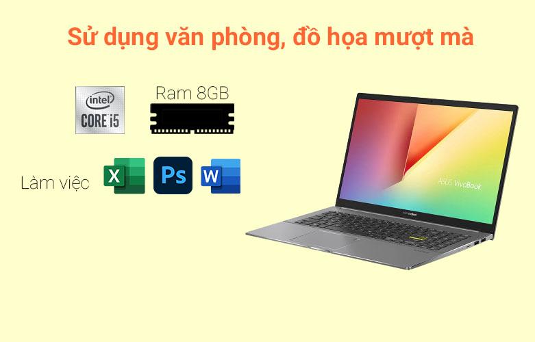 Laptop Asus Vivobook S533EA-BN293T   Hiệu năng mạnh mẽ