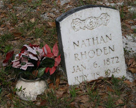 Photo: Nathan son of Rachel of Rachel Rhoden and Unknown / Husband of Mandany Thompson