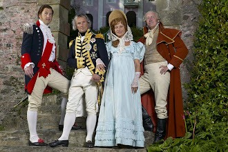 Photo: King of naples, nelson, emma and her husband sir william hamilton