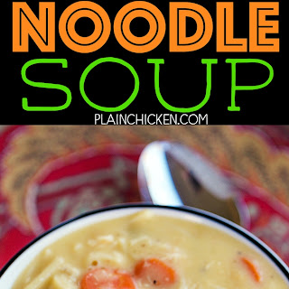 Cheesy Chicken Noodle Soup Recipes