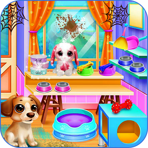Pet shop cleaning - Animal game Icon