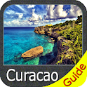 Curacao Gps map navigator icon