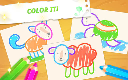 Drawing for toddlers ud83cudfa8 coloring games for kids cheat screenshots 4