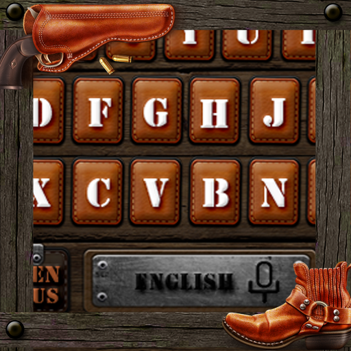 American Sharpshooter Cowboy Keyboard Theme
