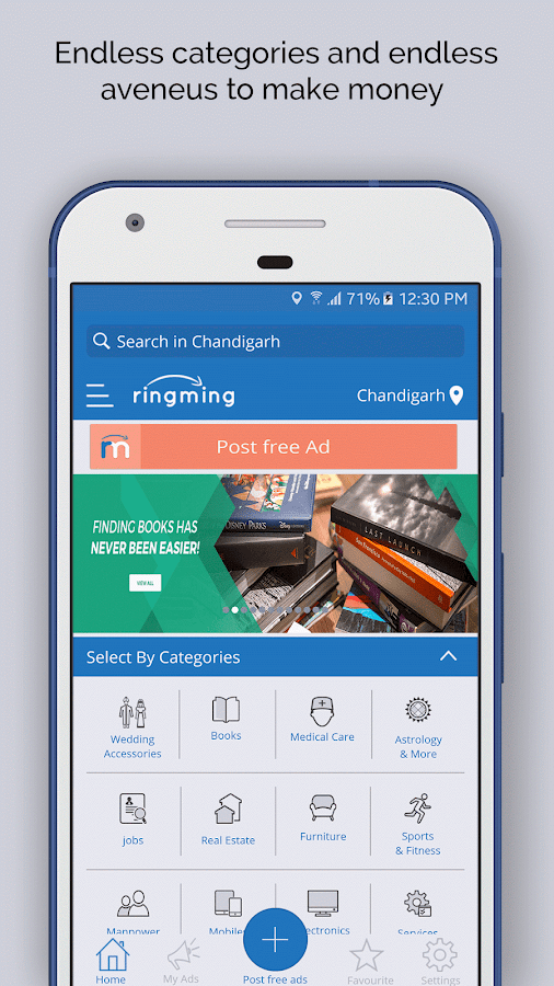 RingMing: Rent,Sell & Buy now- screenshot