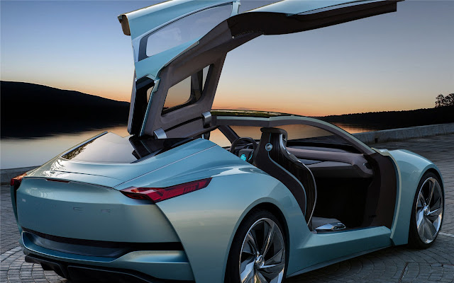 Concept car Themes & New Tab