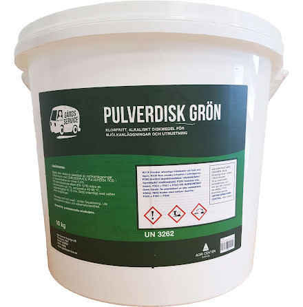 GS pulverdisk Grön 10kg