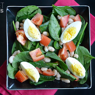 Spinach and White Bean Salad Recipe