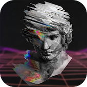 Vaporwave- Aesthetic Filters & Photo Glitch Art