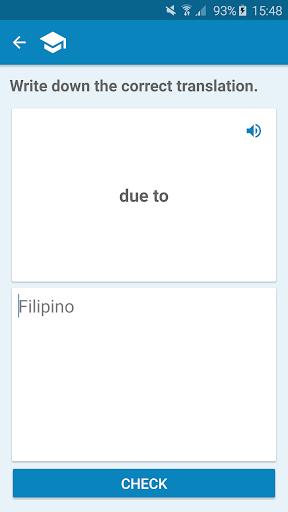 Filipino-English Dictionary screenshot 4
