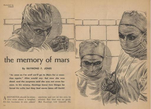 "Short Story Review: Raymond F. Jones' ""The Memory of Mars"" (1961)"