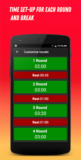 Boxing Interval Timer 3.1.5 Screenshots 5
