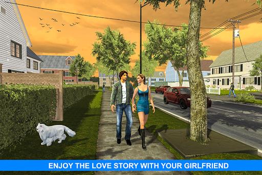 Virtual Girlfriend: Real Life love Story Sim apktram screenshots 3