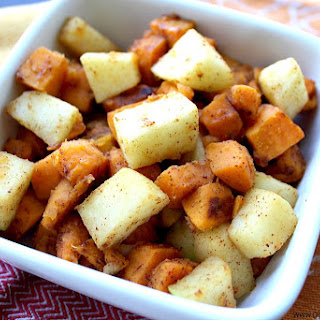 Maple Cinnamon Sweet Potatoes and Apples Recipe