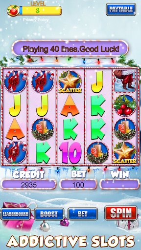 Slot Machine: Free Christmas Slots Casino Game 1.2 screenshots 2