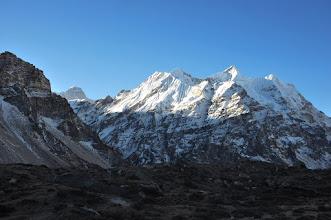 Photo: Au départ de Lhonak (Jannu)