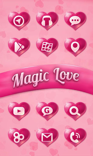 Magic Love GO Launcher|玩個人化App免費|玩APPs