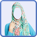 Hijab Women Photo Suit icon