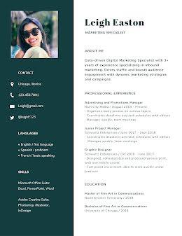 Leigh L. Easton - Resume item
