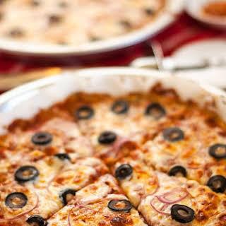 Pizza with Potato Quinoa Crust.