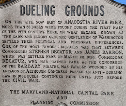 Photo: My first site was the Old Dueling Grounds - which also happens to be part of the Bladensburg battlefield.