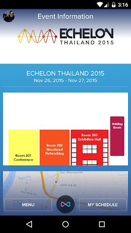 android Echelon Thailand 2015 Screenshot 2
