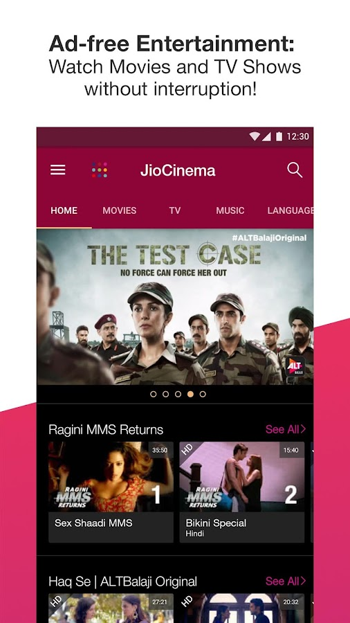 JioCinema: Movies TV Originals- screenshot